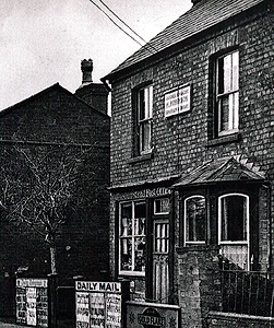 Wilshamstead Post Office about 1938 [Z50/134]